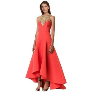 Marchesa Notte embellished evening gown size 8